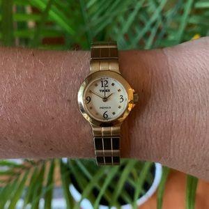 VINTAGE Timex Gold Watch